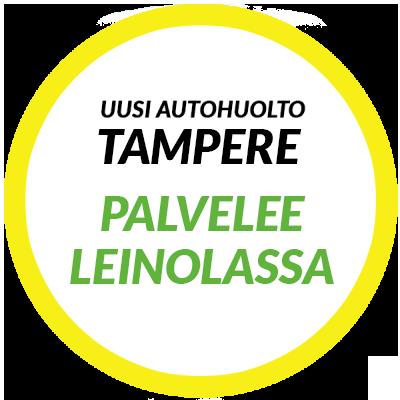 Uusi Autohuolto palvelee Tampereen Leinolassa